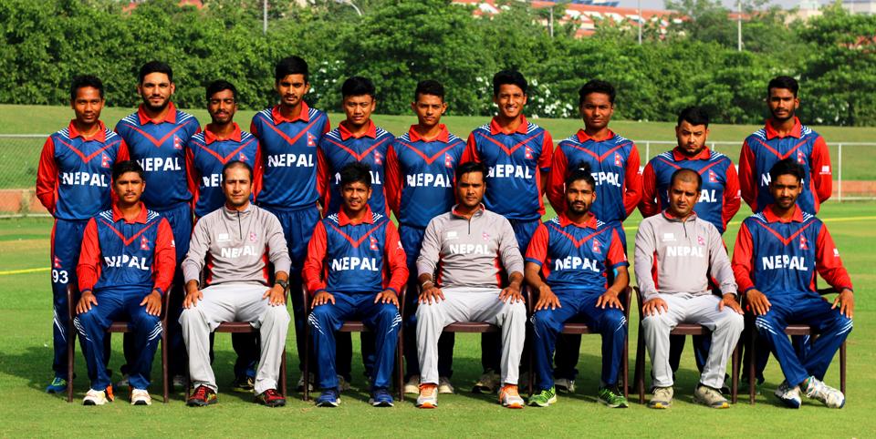यु-१९ एशिया कप खेल्ने नेपाली क्रिकेट टाेलीको घोषणा