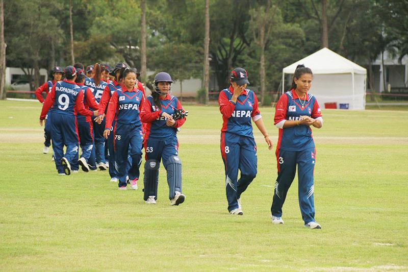 टि-२० विश्वकप छनोटका लागि नेपाली महिला क्रिकेट टोलीको घोषणा