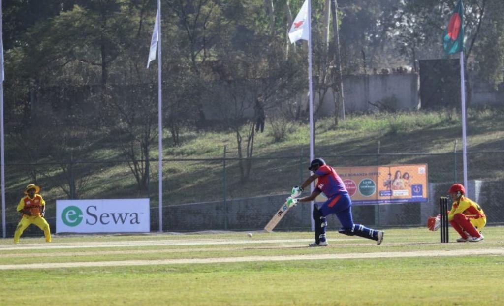 टि-२० क्रिकेटमा नेपालले बनायो उच्च स्कोर, ज्ञानेन्द्रको शतक