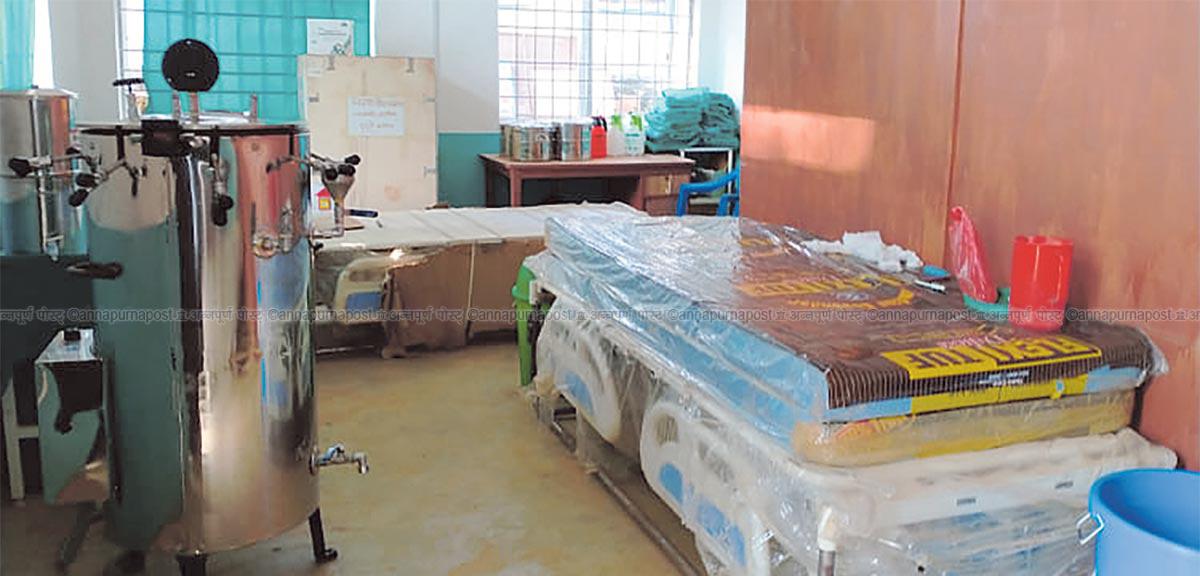 जाजरकोटका अस्पतालमा छैन अक्सिजन प्लान्ट र भेल्टिलेटर सुबिधा