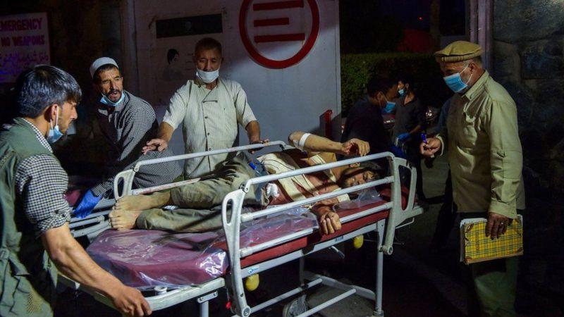 काबुल विस्फोटमा १३ अमेरिकी सैनिकसहित ६० जनाको मृत्यु